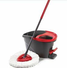 Spin Mop Bucket Microfiber Rotating Magic Floor Easy 360° Head Spinning