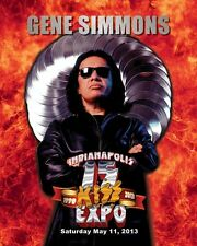 Gene Simmons FIRE 2013 Indianapolis Expo 8x10 PHOTO