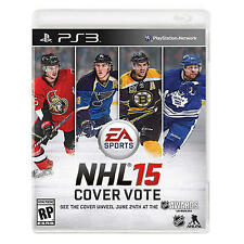 NHL 15 PS3 (Sony PlayStation 3) video game, New, Factory Sealed- Ships Fast