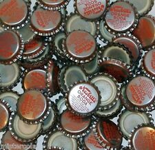 Soda pop bottle caps Lot of 25 NESBITTS ORANGE SODA plastic lined new old stock