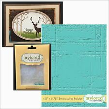 WEATHERED embossing folder - Taylored Expressions embossing folders TEEF31