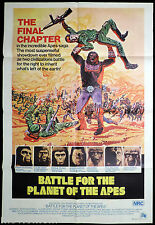 BATTLE FOR THE PLANET OF THE APES Original Australian ONE SHEET Movie Poster