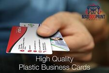 1000 Full Color Custom Print 2 Sided 20pt Plastic Business Cards! Free Shipping!