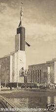 1939 USSR SOVIET EXHIBIT BUILDING 1939-40 NEW YORK WORLD'S FAIR Real Photo RPPC