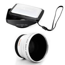 37mm 16:9 Hood,Wide Lens for JVC Everio GZ-MG505,GR-D90U,R-X5,GZ-HM340 camcorder