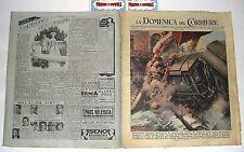 LA DOMENICA DEL CORRIERE n. 10 - (1948) con sovracoperta pubblicitaria!!!