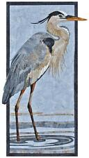 Great Blue Heron Toni Whitney Fusible Applique Quilt Pattern + Fabric Kit