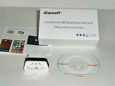 ICarsoft i610 WiFi dispositivo de diagnóstico, error leer & eliminar para android iphone Pad