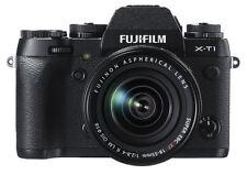 Fujifilm X Series X-T1 16.3 MP Digital SLR Camera Black Kit w/ 18-55mm Lens USA