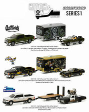 HOLLYWOOD HITCH & TOW SERIES 1 SET OF 3 1/64 DIECAST BY GREENLIGHT 31010-A-B-C