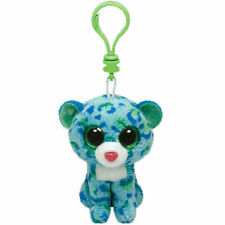 """TY Beanie Babies Boo's Leona Key Clip 3"""" Stuffed Collectible Plush Toy NEW"""