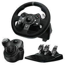 Driving Force G920 - Xbox One & PC Racing Wheel Pedals Shifter Bundle - New - UK