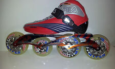 Fila Matrix 100 LK Red/Sil/blue Speedskates Fitness Inline Skates Gr. 38,5 Sale