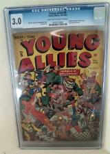 Marvel CGC 3.0 YOUNG ALLIES CAPTAIN AMERICA HITLER Comics #5  TIMELY Golden Age