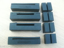 PETROL TANK RUBBERS.BLACK. INNOCENTI STAMPED.FOR LAMBRETTA GP-LI-SX-TV S3  NEW