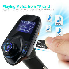 Bluetooth 4.0 Car FM Transmitter Wireless Radio Adapter USB Charger For iPhone 6