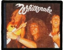 WHITESNAKE 'GROUP LIVE'  sew on printed patch  DAVID COVERDALE