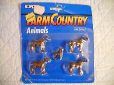 Ertl Farm Country Toy Horses Accessory Set Animal Livestock MIP 1/64 Tractor