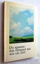 (n) DU SPANNST DEN HIMMEL WIE EIN ZELT - Renate Borg (Hrsg)