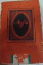 Old vintage hard box paper Agfa Co. Empty Box from India 1930