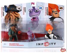 DISNEY INFINITY 1.0 2.0 3.Figures Villains Triple Pack Randy Syndrome Davy Jones