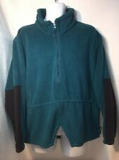 Woolrich Rugged Outdoor 1/2 Zip Pullover Fleece Jacket. Men's Large. Made In USA