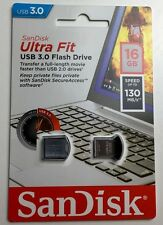 Mini USB Stick SanDisk Ultra Fit 16 GB USB 3.0 Flash Drive