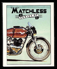 MATCHLESS -Original Collectors Cards- G3 G9 G45 G15 etc