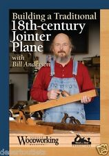 NEW! Build a Traditional 18th-Century Jointer Plane with Bill Anderson [DVD]