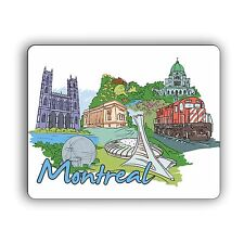 """Montreal Art Doodle Mouse Pad 8""""x10"""" Canada"""