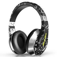 Bluedio A (Air) Bluetooth Kopfhörer wireless kabelose 3D Sound Headset,schwarz
