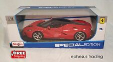 Maisto Ferrari LaFerrari F150 Coupe 6.3L V12 Hybrid Red w/Black 31697 1/18 NEW!