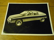 "CITROEN GS BASALTE PRESS RELEASE PUBLICITY/PRESS PHOTO ""brochure"" jm"