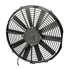 """SPAL Performance Radiator Fan 14"""" Straight Puller 1035CFM 2"""" deep / thick"""