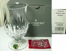 Waterford EILEEN 12 Days of Christmas Punch Cup, NIB
