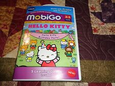 Vtech MobiGo   Game Cartridge Hello Kitty - Hello Kitty Birthday Party! 3-5 yrs