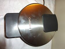 VINTAGE CUISINART PANCAKE WAFLE MAKER PRESS NONSTICK SURFACE THERMOSTATE # 54J9