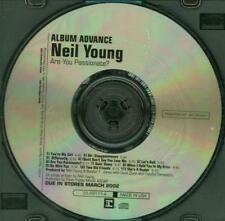 Neil Young: Are You Passionate? Advance PROMO Music CD 11 track pre-release DJ