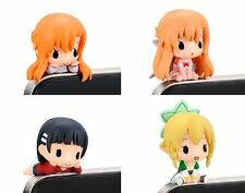 Sword Art Online Earphone Jack Dust Plug Figures Set Of 4