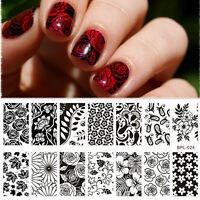 Nagel Schablone BORN PRETTY BP-L024 Nail Art Stamp Stamping Template Plates