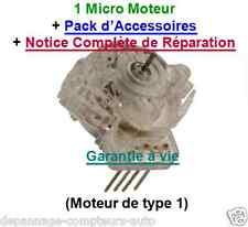 MICRO MOTEUR ENTIER  100 % NEUF REPARATION COMPTEUR PEUGEOT 206,806 / CITROEN C5