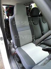 VW TRANSPORTER T4 VAN SEAT COVERS SHEEN GREY CLOTH 1 DRIVER'S COVER