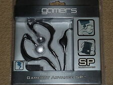 NINTENDO GAMEBOY ADVANCE SP STEREO HEADPHONES BRAND NEW & SEALED! EARPHONES GBA