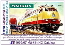 EE 1966/67 H hfl VG Marklin HO Catalog 1966 1967 Picture of 3053 TEE VeryGood