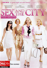 SEX AND THE CITY The Movie - Sarah Jessica Parker DVD R4 - PAL