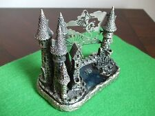 Castle of the Lake - Tudor Mint - Pewter Sculpture - Number 3344