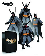 DC: Batman 75th Anniversary: BATMAN (from SUPER FRIENDS) figure -(statue/comic)