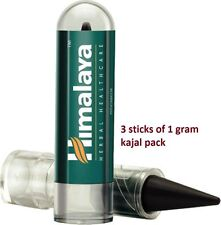 3X Himalaya Herbals Kajal Black eye Definer Organic Waterproof Long staying 1gr