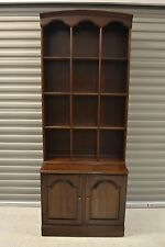 Ethan Allen Georgian Court Bookcase Library Book Stack Cabinet #11-9005 #225