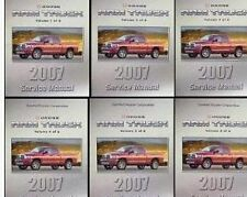 2007 DODGE RAM TRUCK 1500 2500 3500 Service Shop Repair Manual SET FACTORY NEW